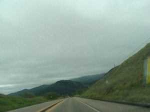Road to Sequoia National Park