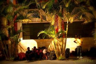 """Petição da Missão Paz pede """"não ao abandono dos haitianos em São Paulo e sim por uma gestão migratória"""". Crédito: Missão Paz"""