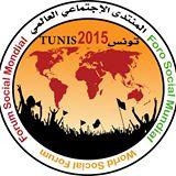 Logo do WSF 2015, que acontece neste mês de março em Túnis (Tunísia). Crédito: Divulgação