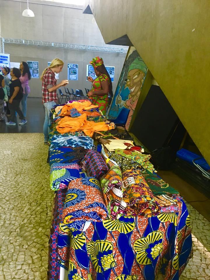 Centro Cultural Jabaquara também recebeu evento com imigrantes e refugiados. Crédito: Karla Portes