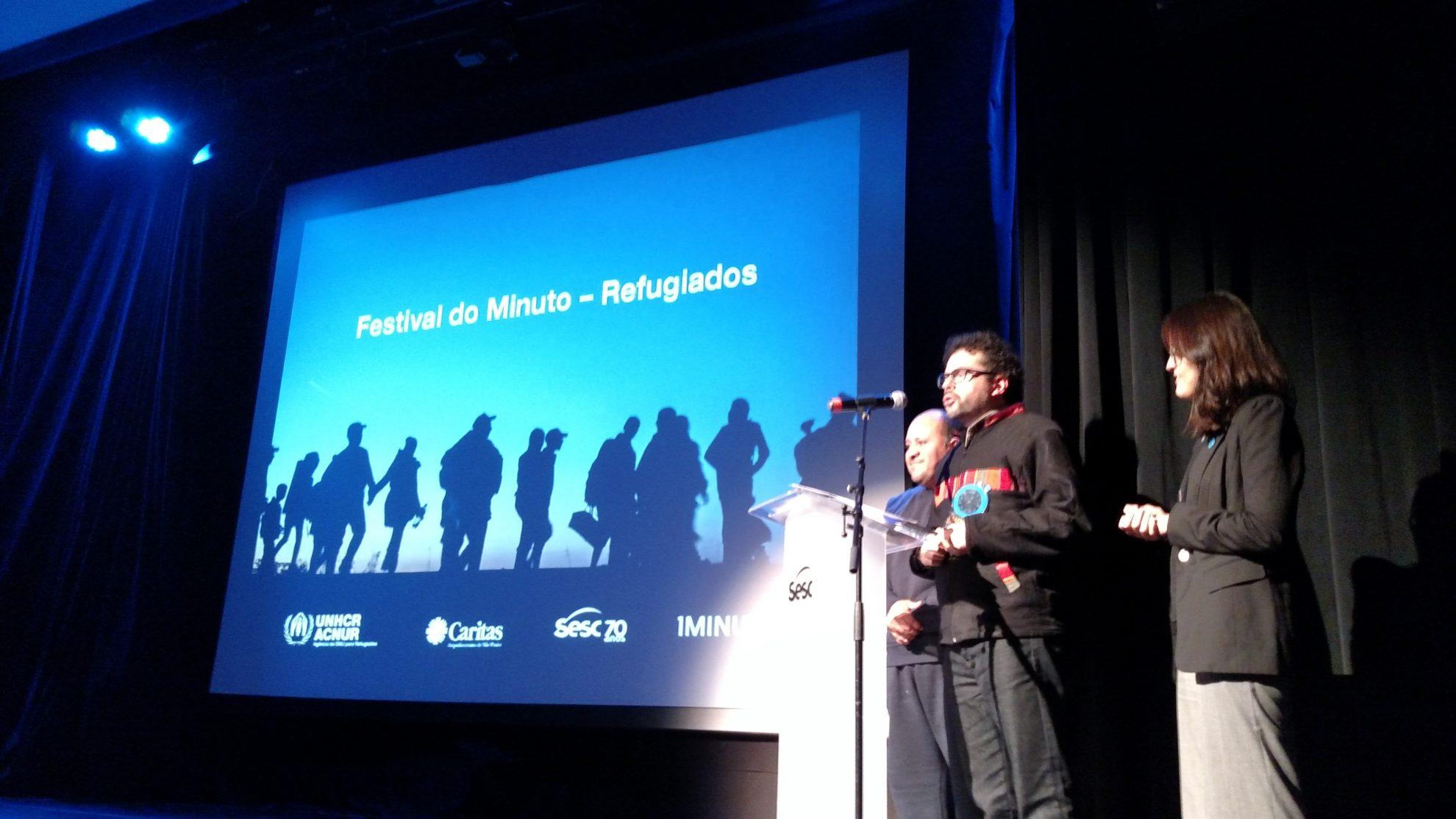 Dado Galvão, de Jequié (BA), autor de um dos vídeos vencedores do festival. Crédito: Rodrigo Borges Delfim