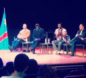 Evento teve objetivo de sensibilizar sobre a situação vivida pelo Congo. Crédito: Divulgação