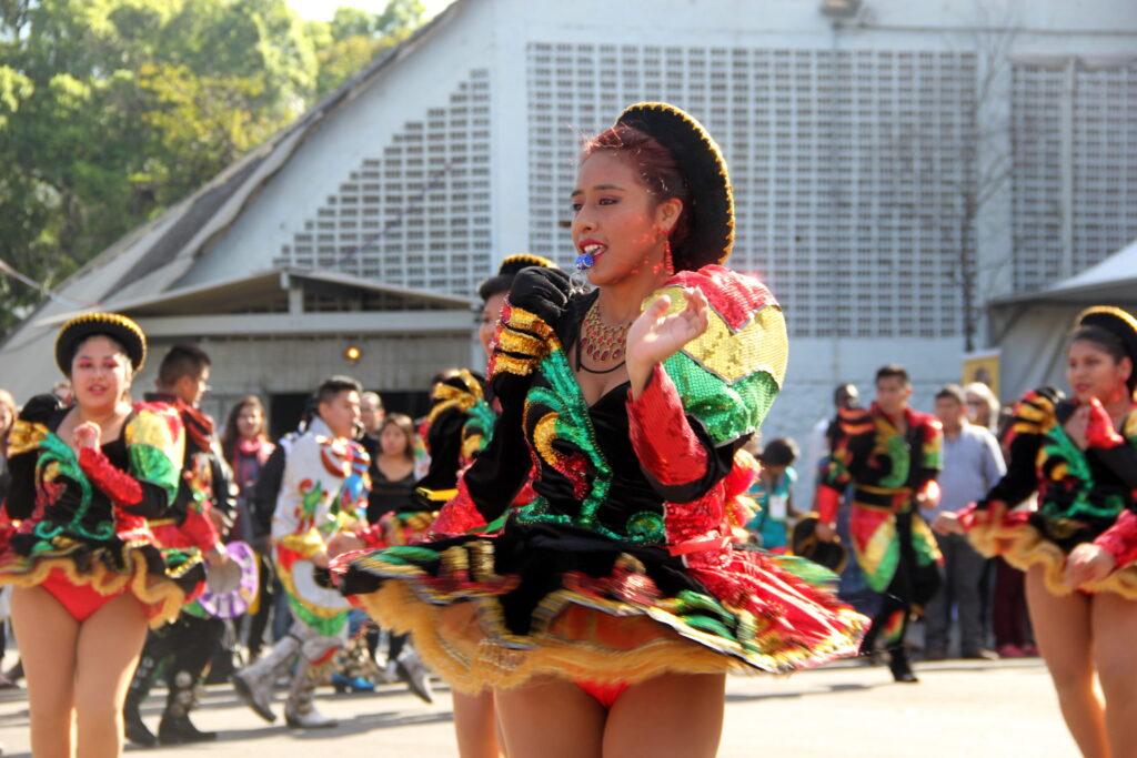 Grupo Folklorico Kantuta Bolívia este na Paulista e também foi ao Fórum Crédito: Eva Bella/MigraMundo