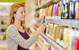Picture of woman shopping in a department of a store. Healthcare pricing can be a lot like any other kind of pricing. If you put in effort by shopping you will find value!