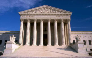 Picture of the US Supreme Court building. Could a Virginia Crony CON law that increases your healthcare costs be challenged by the Supreme Court?