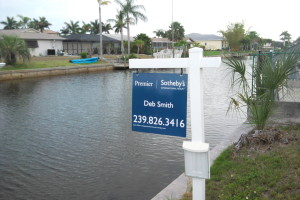 Premeir Sothebys - Real Estate Sign