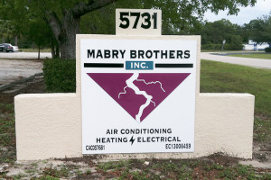 Mabry Brothers - Monument Sign (Custom Routed Dibond)