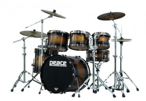 Peace Paragon Maple Drums