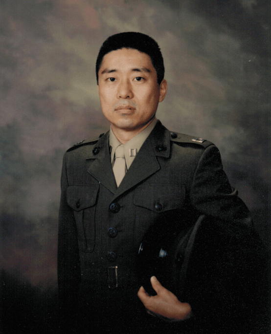 Military Uniform Portrait