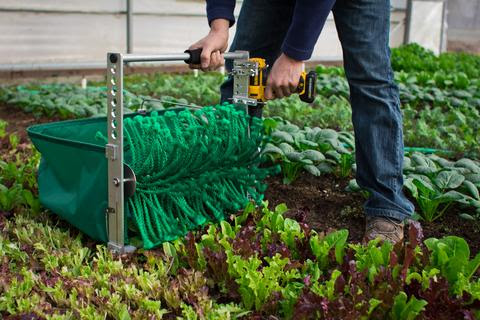 quick cut greens harvester