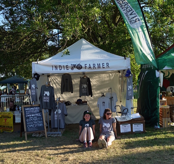 Indie Farmer Stand at Lambeth Country Show