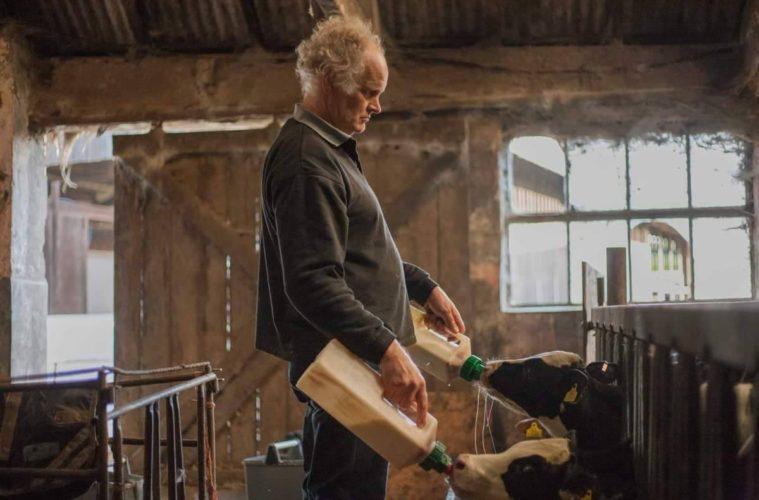 small scale dairy farmer