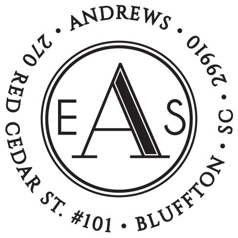 Self-inking stamps - Andrews