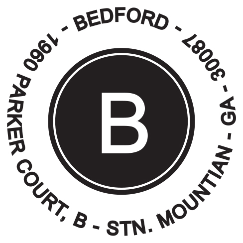 Self-inking stamps - Bedord