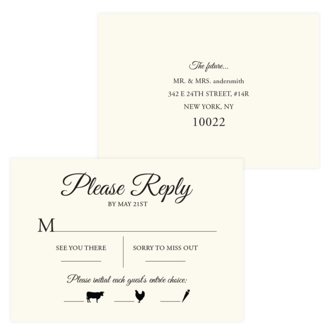 Skyline Wedding Invitations