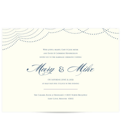 Navy Wedding Suite