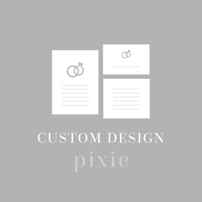 Custom Wedding Designs