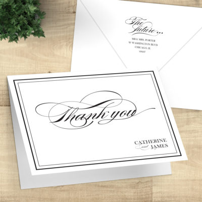 Thank You Cards & Stationery