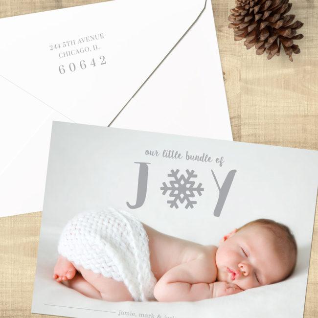 Bundle of Joy Holiday Card