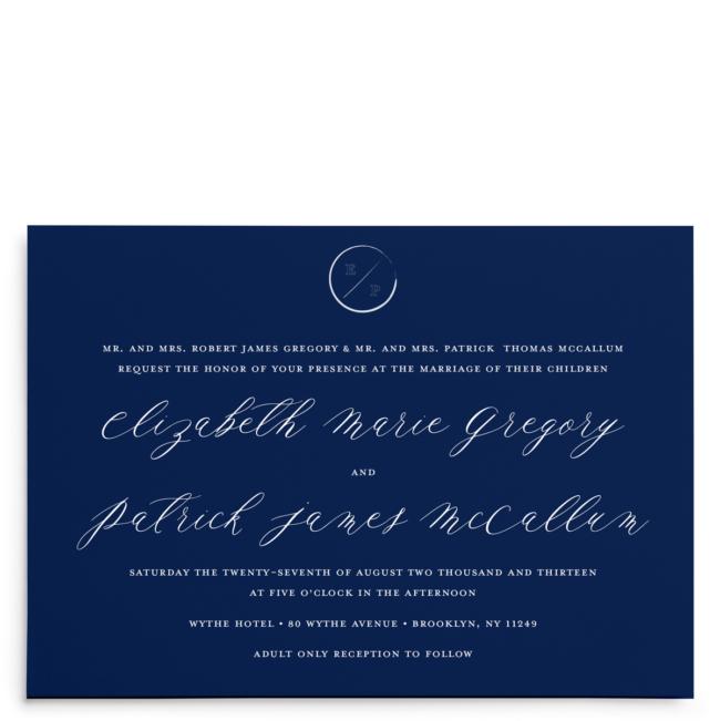 Navy Grace Wedding Suite