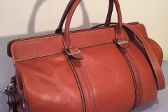 Leather Travel Bag 1