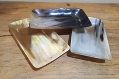 Horn Rectangle Tray