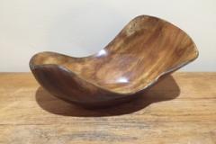 Large irregular bowls