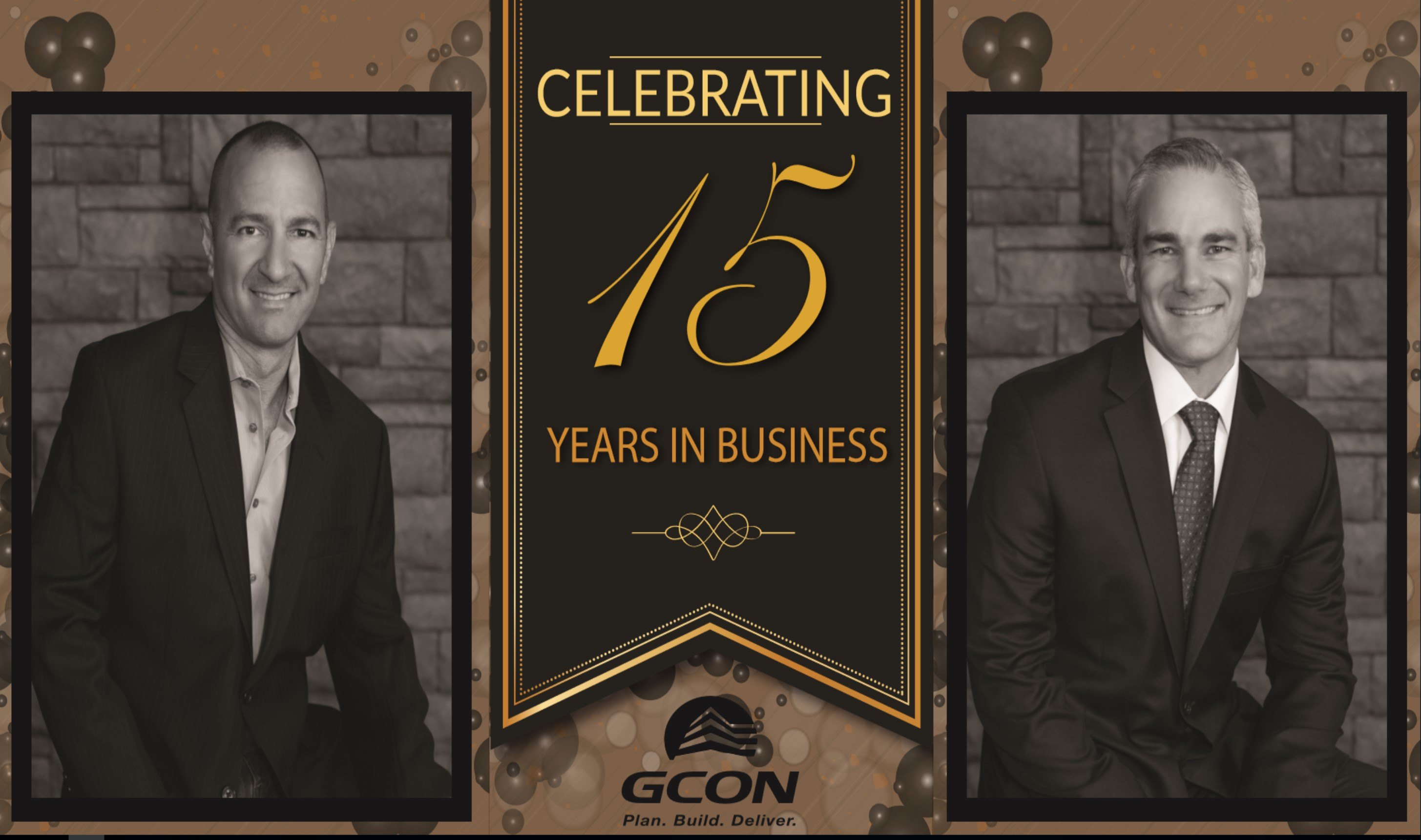 GCON celebrating 15 years