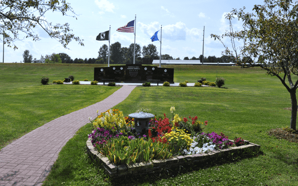 Veterans Memorial Park Monticello, Wisconsin