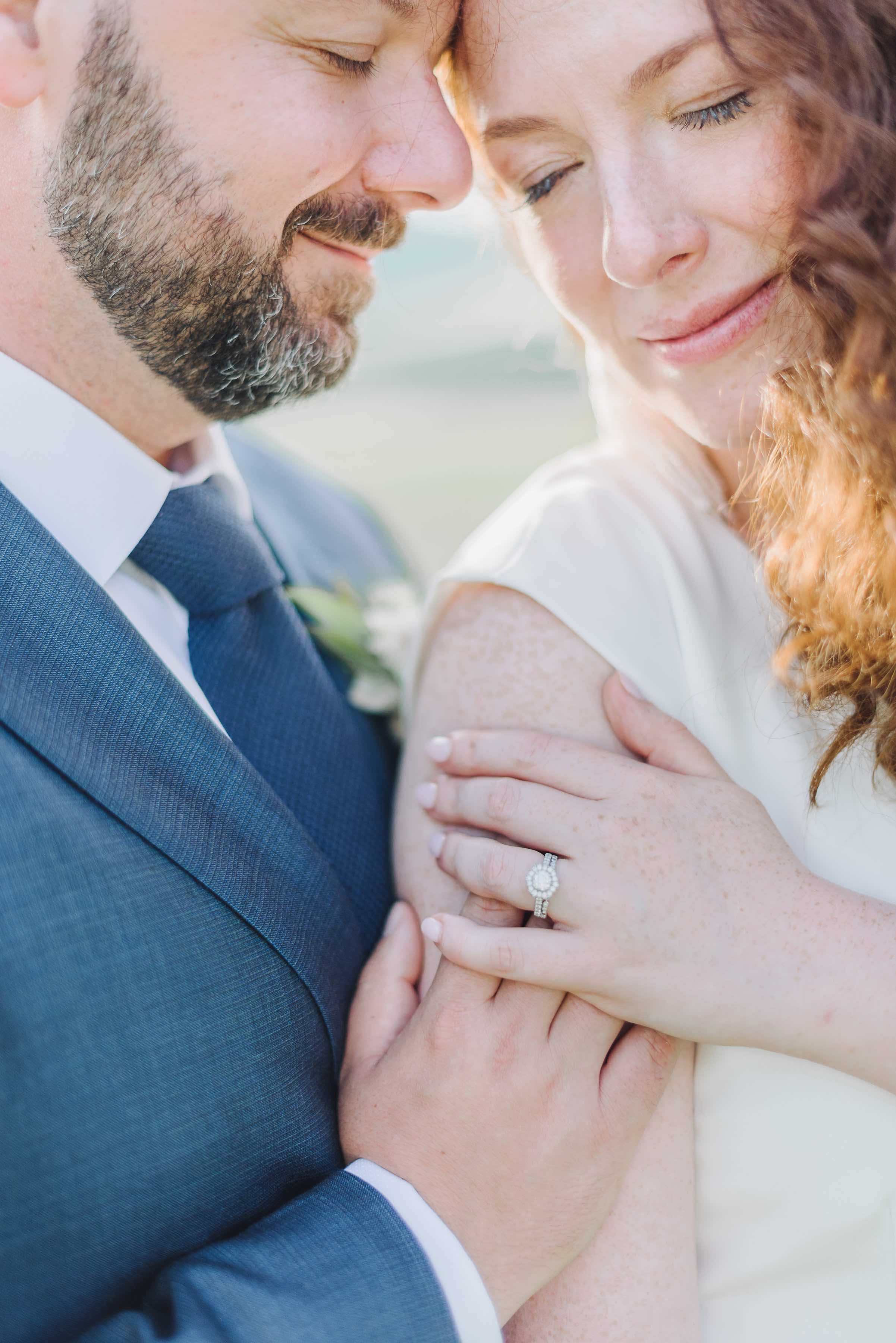 Couple session for this Tuscan intimate wedding