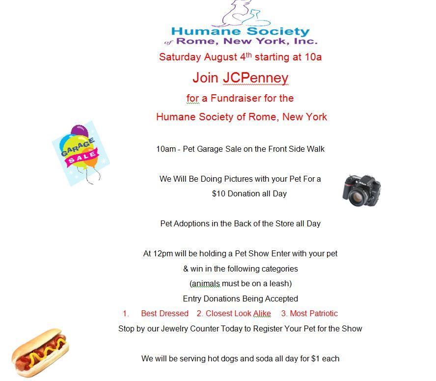 Fun JCPenney Fundraiser @ JCPenney | Rome | New York | United States