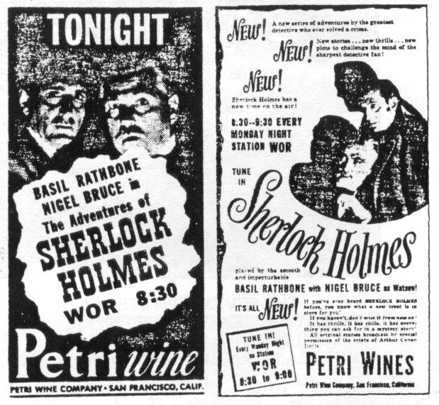 Petri Wine Show Ads