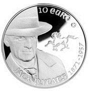 2012 Irish 10 Euro Coin Honors Creator of Chubblock Homes