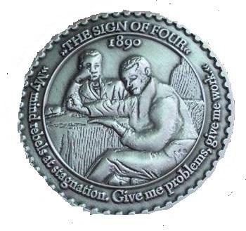 Deutsche Sherlock Holmes Gesellschaft Issues Medal for Sherlock Holmes' 160th Birthday