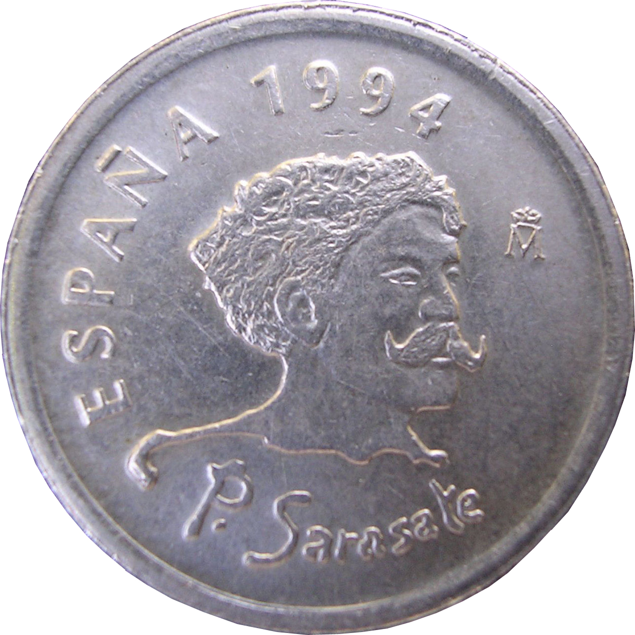 1994 Spain 10 Peseta Coin Honors Sarasate
