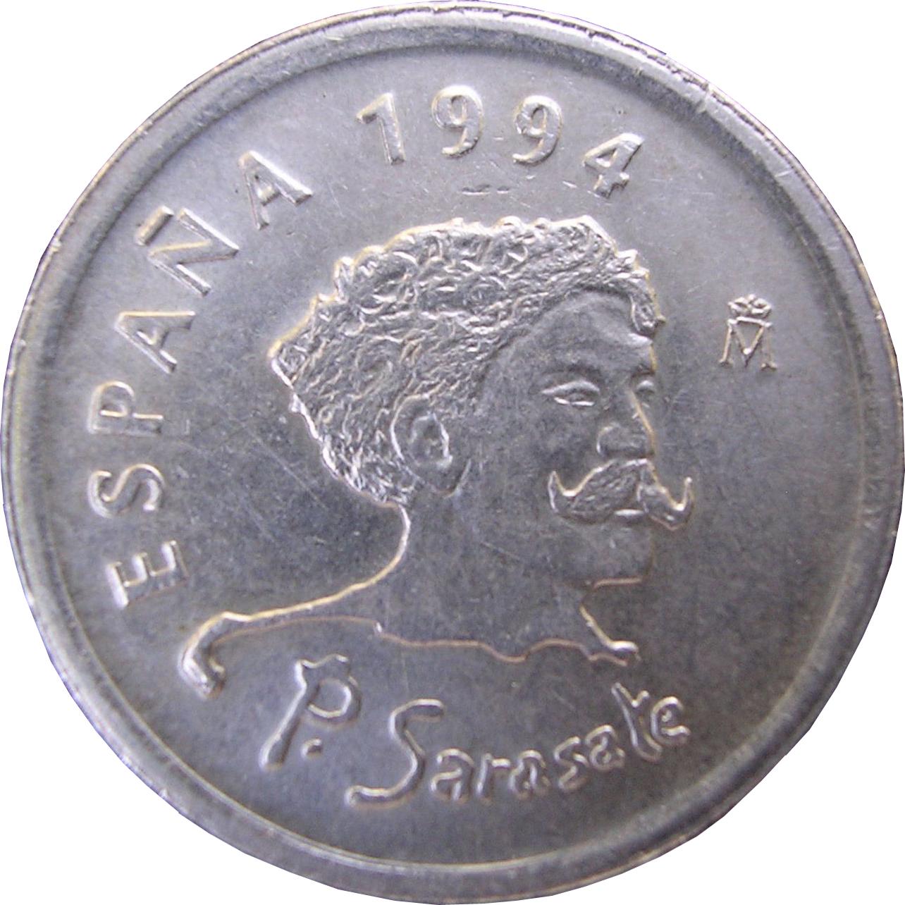 1994 Spain 10 Peseta Coin Honors Sarasate