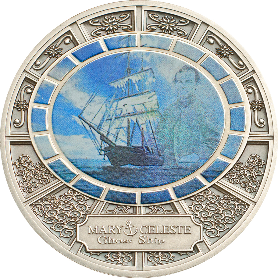 2013 Niue Ghost Ships Dollar Coin Series Honors the Mary Celeste