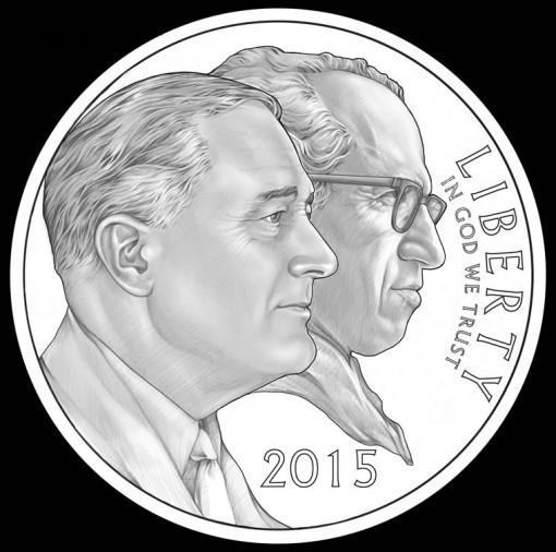 2015 March of Dimes Dollar Features Roosevelt