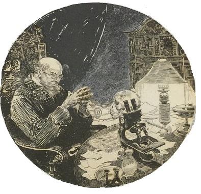 John Richard Flanagan's Illustrations for The Three Garridebs