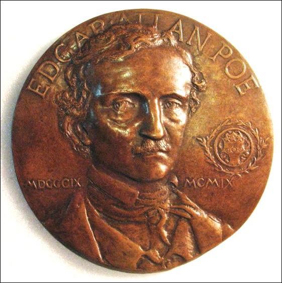 More Numismatic Remembrances of Edgar Allan Poe