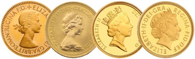 QEII UK Coinage Portraits