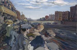 The Liffey Swim, 1923