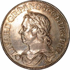 1658 Oliver Cromwell Crown