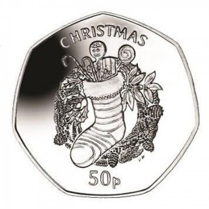 2013 Isle of Man 50 Pence