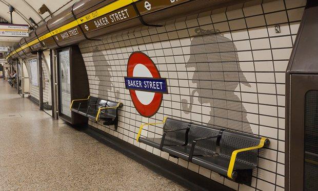 The London Underground and Sherlock Holmes
