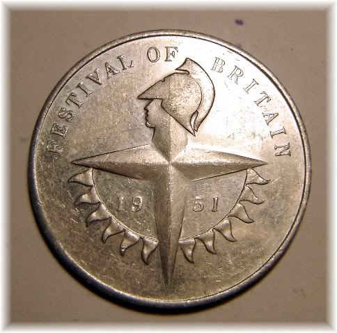 Numismatic Rembrances of the 1951 Festival of Britain