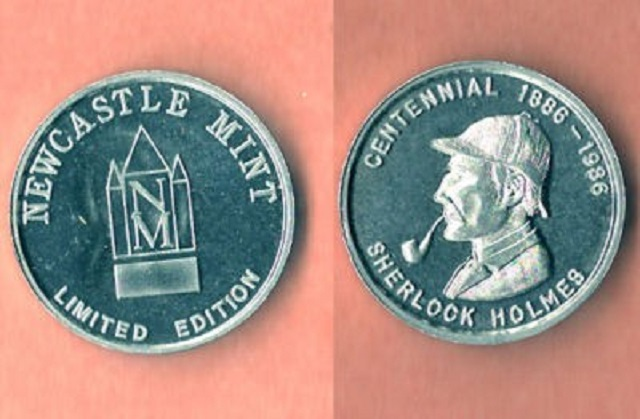 The Sherlock Holmes Centennial Art Medal Collection: An Update – 4 Medals!