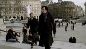 Sherlock Trafalgar Square
