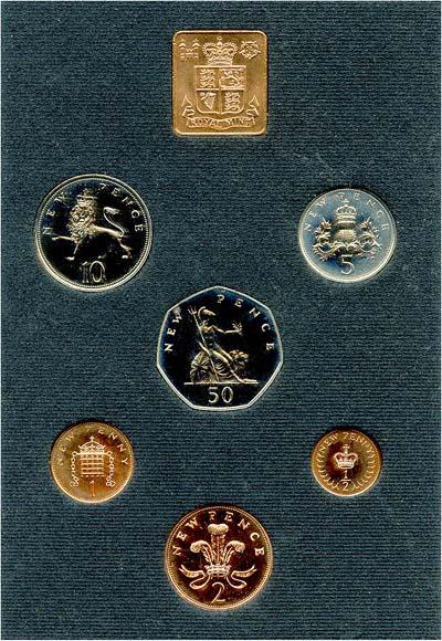 1971 British Decimal coinage
