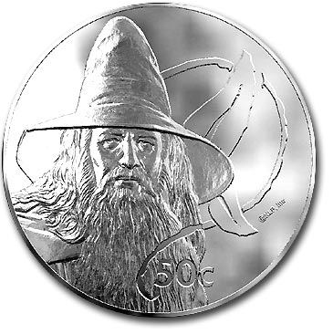 2004 NZ Gandalf 50 cents